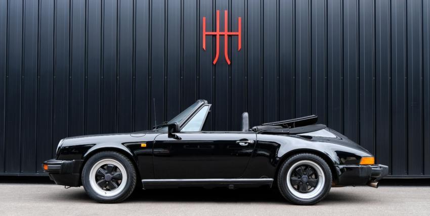 PORSCHE 911 CARRERA 3.2 CABRIOLET G50